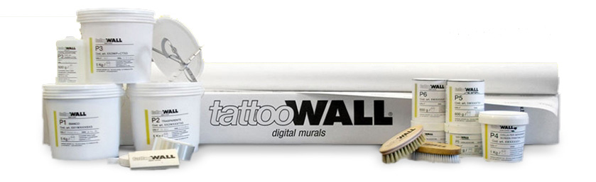 tattoo wall materiali