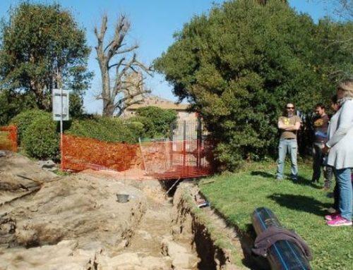 Acropoli di Volterra: ritrovati resti romani