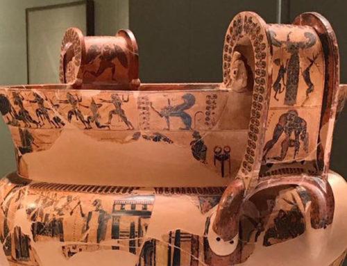 Il Vaso François in trasferta a Atene