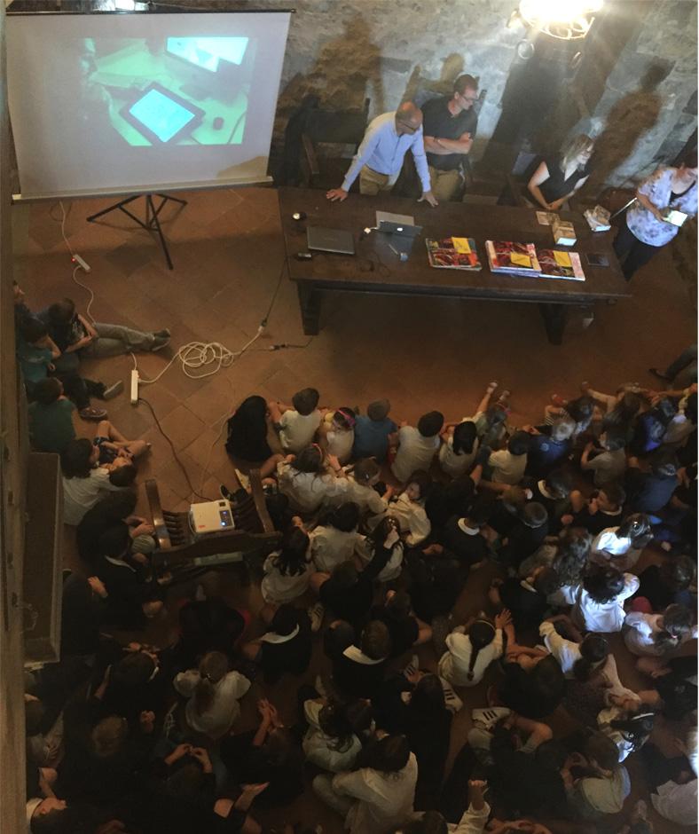 Presentazione GiocaMuseo Castellina in Chianti 8 Giugno